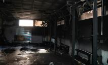 В Днепре неизвестные подожгли спорткомплекс «Авангард» полка «Азов»