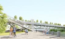 Длинною в 270 метров: в Днепре построят новый мост на Монастырский остров