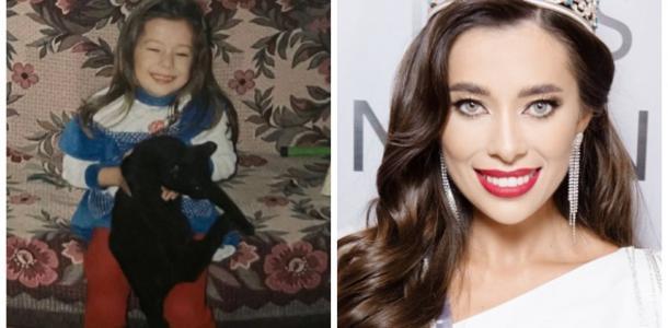 «Мисс Украина Вселенная» из Днепра показала свои детские фото и стала героиней мемов