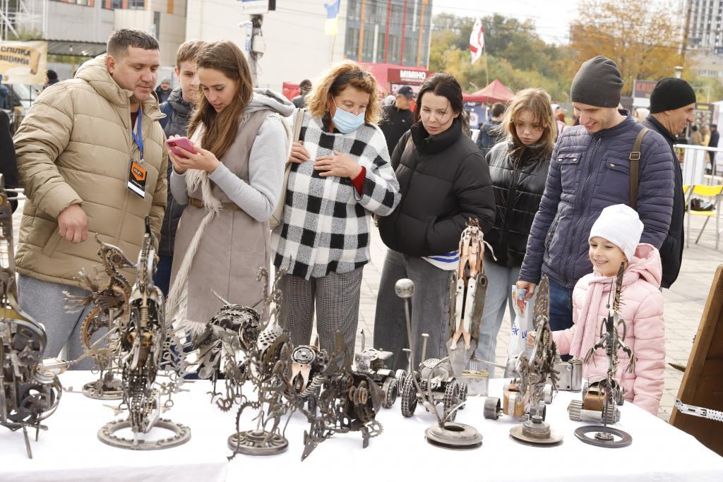 Новости Днепра про В Днепре стартовал фестиваль кузнечного искусства «Кoval fest»