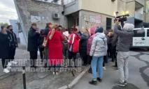 Митинг против небоскреба: в Днепре жители бастовали против 25-этажки