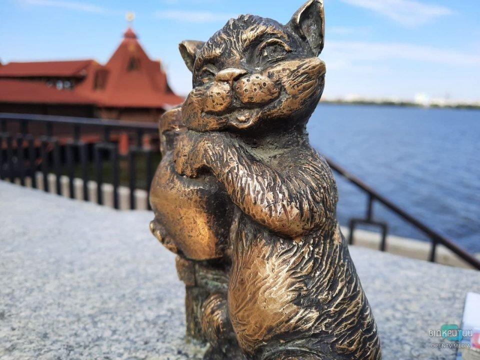 Новости Днепра про В Днепре появилась еще одна мини-скульптура