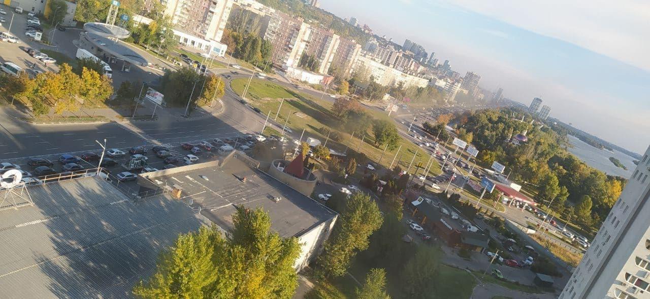 Новости Днепра про В Днепре на проспекте Героев из-за ДТП километровая пробка в сторону центра