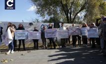 В Одессе прошёл митинг противников вакцинации