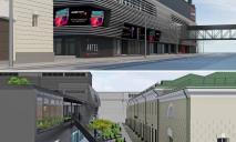 В Днепре на Пастера построят новый ТРЦ «ARTEL»: фото с места строительства