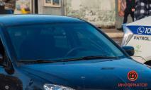 Появилось видео: в Днепре на «зебре»  сбили пешехода