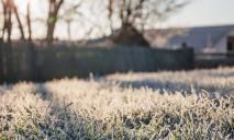 Первый уровень опасности: в Днепре обещают заморозки